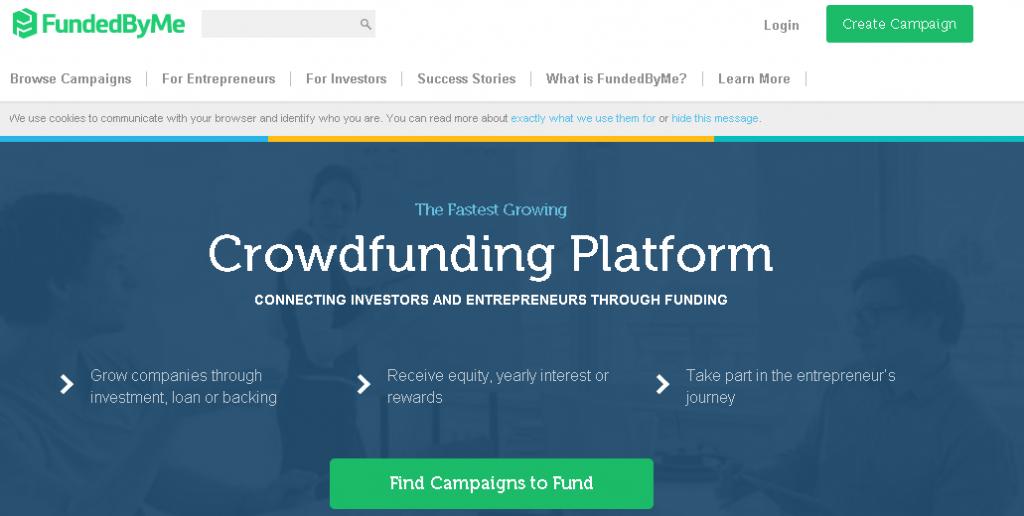 FundedByMe Crowdfunding Platform