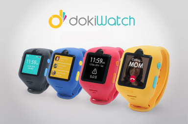 dokiWatch smartwatch product image