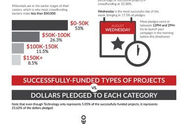 crowdfunding demographics infographic