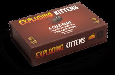 exploding kittens game kickstarter